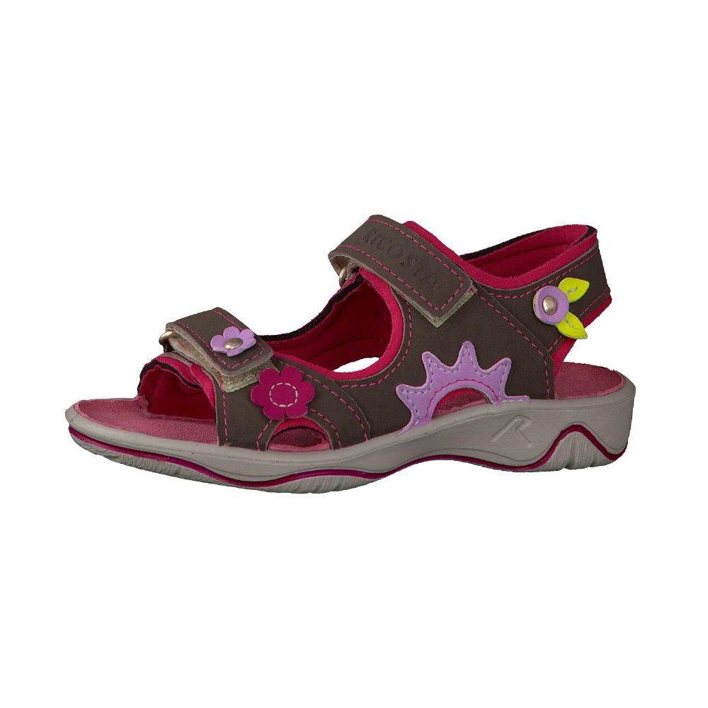 Ricosta SHARI Waterproof Sandals (Grey/Pink) 31 only!